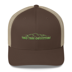 Two Tree Trucker - Khaki - Two Tree Outfitters