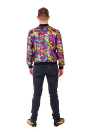 Bomber Jacket - Disco Rainbow - Unisex