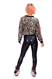 Candy Queen - Sequin Bomber Jacket