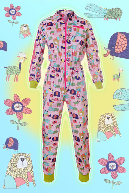 Animal Adventure - Banging Boilersuit - Cinched