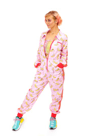 LAST ONE! Size (XL) - Banging Boilersuit - Cool Bananas - Cinched