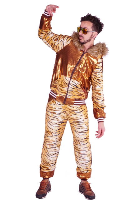Fluffing Fabulous Tiger Print - Tracksuit - Unisex