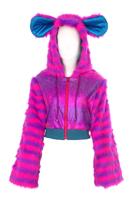 Disco Minx - Fluffy Jacket - Lairy Bear