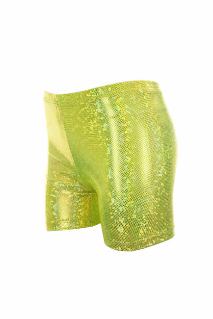 Golden Green - Hologram - Hot Pants - Unisex