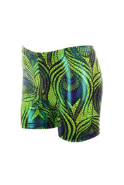 Peacock Feather - Hot Pants - Unisex