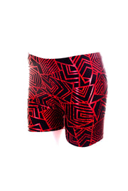 Ruby Geo-mess - Hot Pants - Unisex