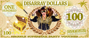 E Vouchers - Disarray Dollars - Gift Card