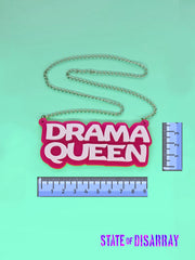 Drama Queen - Choose your colours - Statement Acrylic Necklace