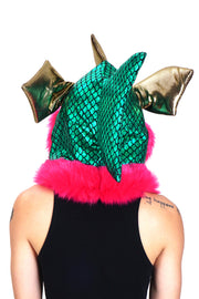 Disco Fish - Emerald - Hood