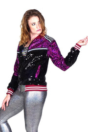 Let's Dance - Magenta - Bomber Jacket