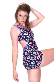 Little Lairy Mermaid - Backless Playsuit