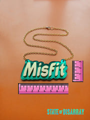 Misfit - Statement Acrylic Mnecklace - State of Disarray