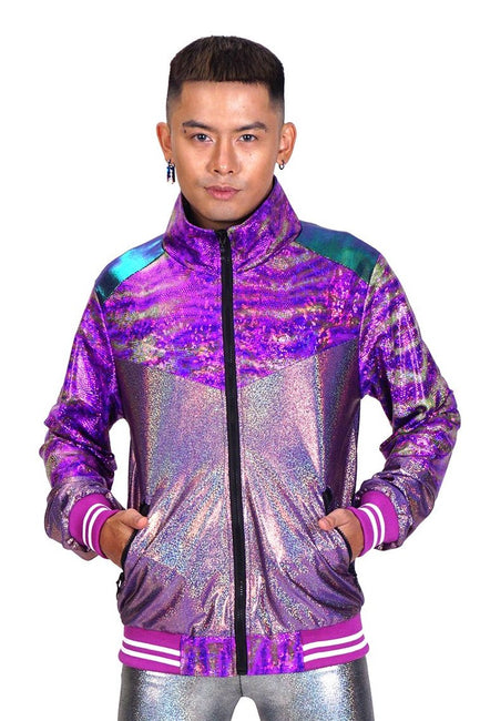 Purple & Platinum - Space Safari - Jacket