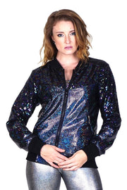 LAST ONE! Size (S) - Deep Space Disco - Bomber Jacket