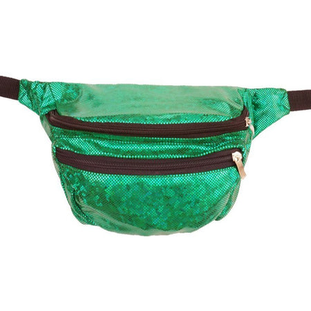 Green Holographic - Bumbag / Fanny Pack