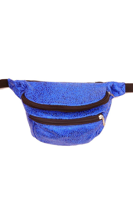 LAST ONE! - Indigo Smashed Seashell - Bumbag / Fanny Pack