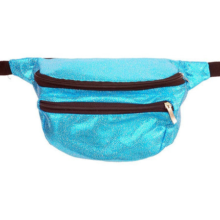Last One!  Turquoise Rainbow - Bumbag / Fanny Pack
