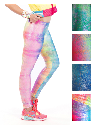 My Little Party Pony Assorted Colours - Spandex Leggings