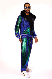 Emerald City - Sequin Tracksuit