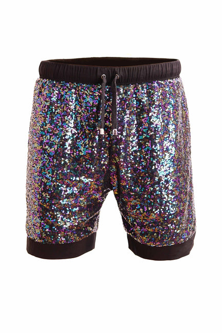 Deep Space Disco - Unisex Sequin Resort Shorts