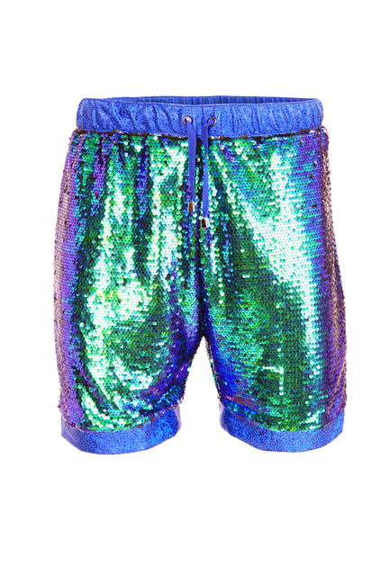 Emerald City - Unisex Sequin Resort Shorts