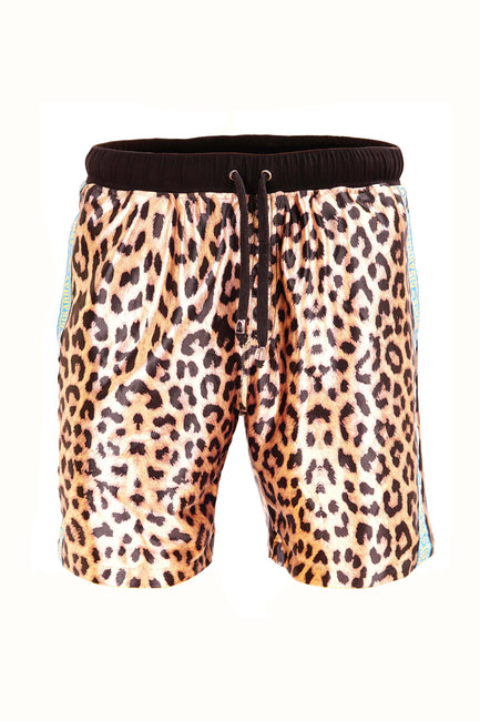 Silky Leopard - Resort Shorts