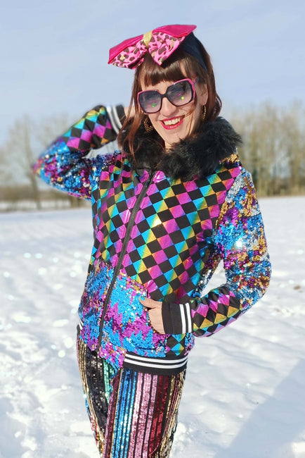 Harlequin Dreams - Super Deluxe Sequin Hoody