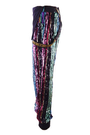 Roller Disco Realness - Sequin Dungarees