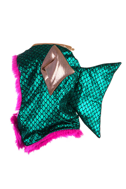 Disco Fish - Emerald - Animal Hood