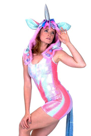 Ultimate Disco Unicorn (Shortie) - Animal Costume