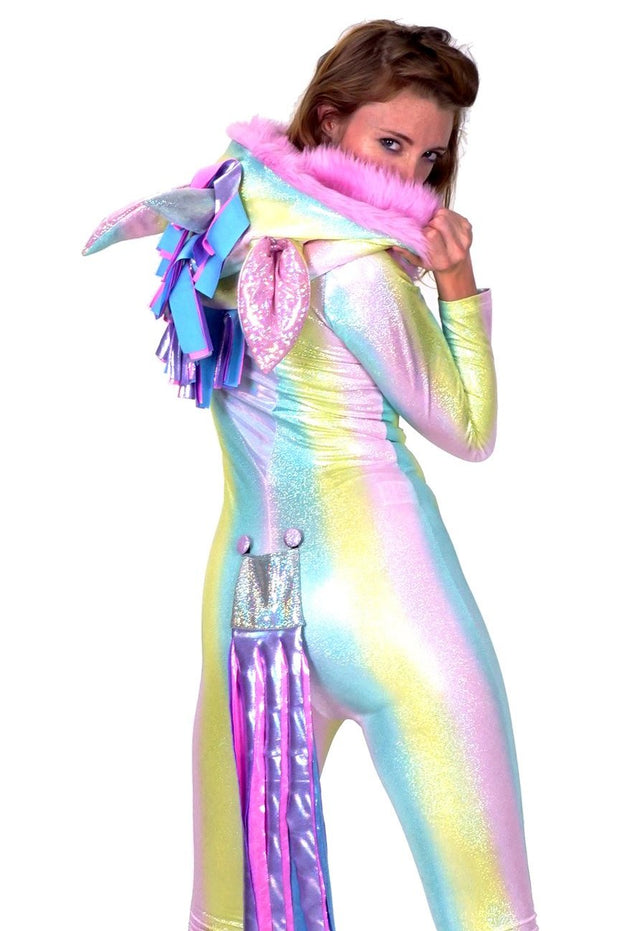 LAST ONE! Size (S/M) - Ultimate Disco Unicorn (Full Length) - Animal Costume
