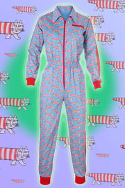 Snooty Cats - Banging Boilersuit - Cinched