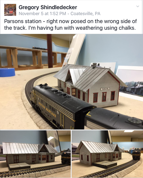 Gregory Shindledeckers' build of Parsons