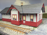 HO Western Maryland Standard Station for OldTown