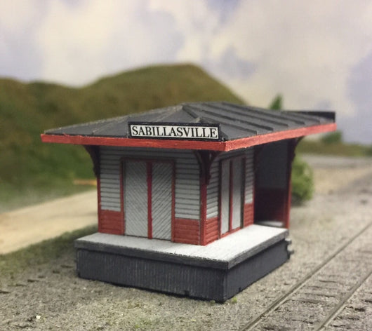 N Scale Sabillasville Waiting Shed