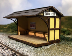 HO Scale waiting / freight sheds as Beechwood, Avondale, Mt Savage and Ridgely