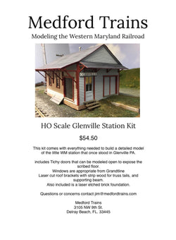 Glenville in HO Scale