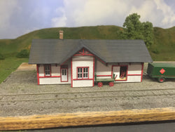 N Scale Standard Western Maryland Station