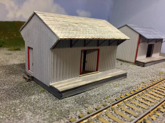 WM Freight Shed in HO