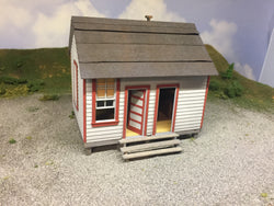O Scale Telegraph Office