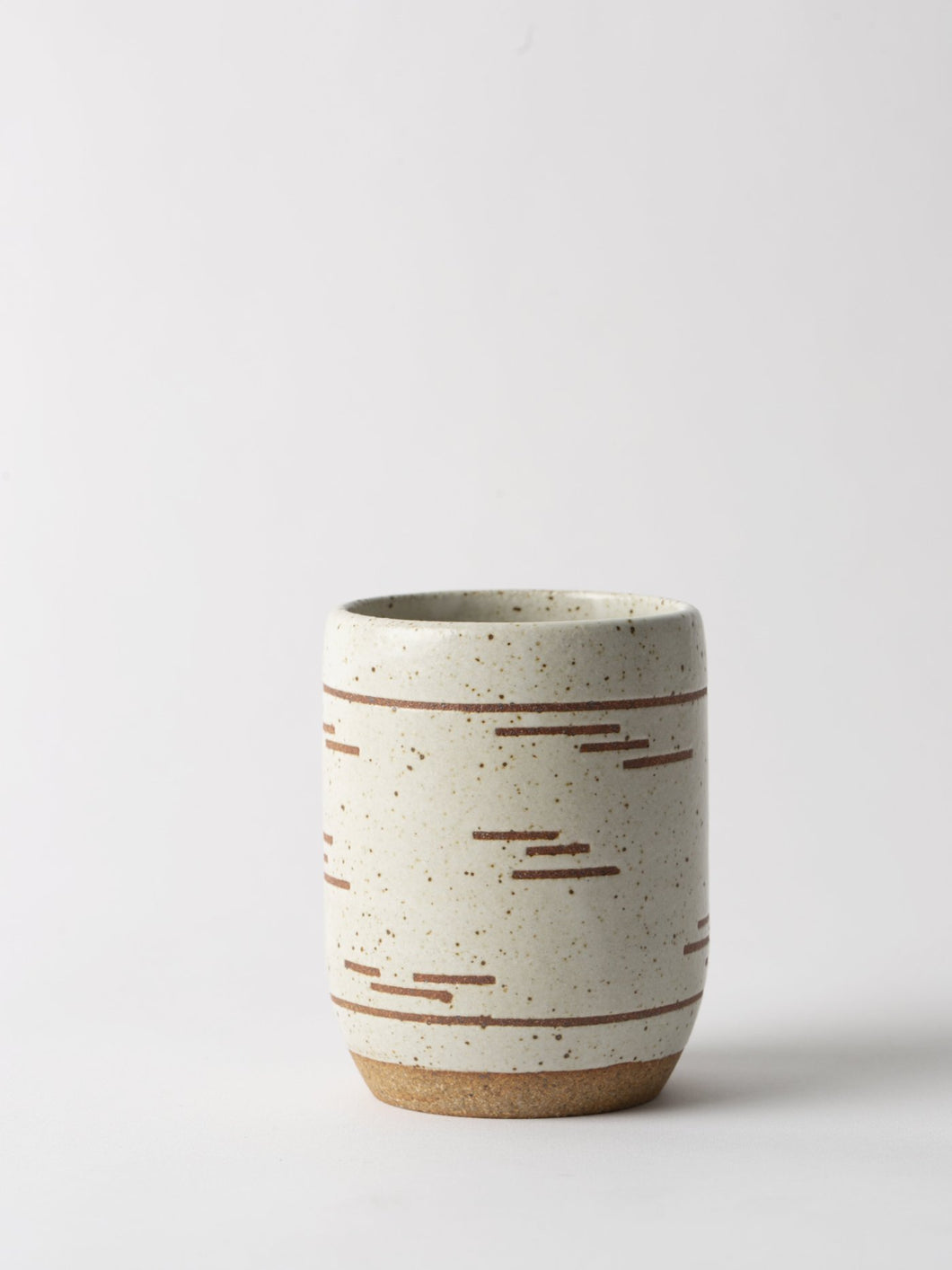 Striped Ceramic Mug