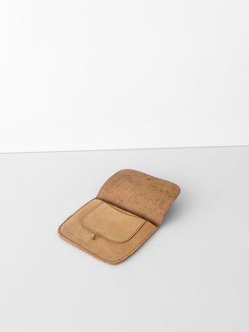 Lulu Wallet in Tan