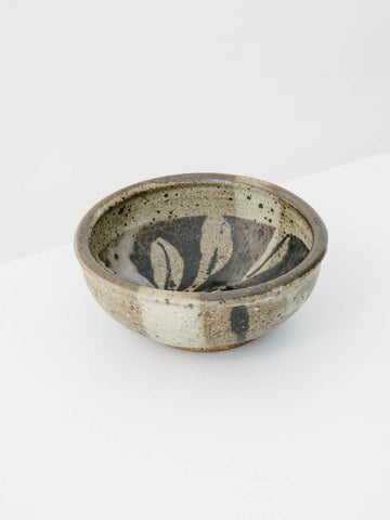 Dark Brown Ceramic Vessel