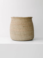 Iringa Handwoven Baskets in Natural, XL