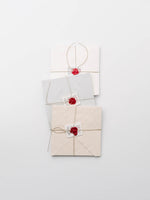 Square Stationery Set in Ivory