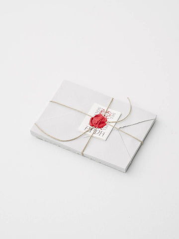 Small Stationery Set in Grey