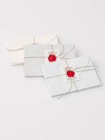 Small Stationery Set in Ivory