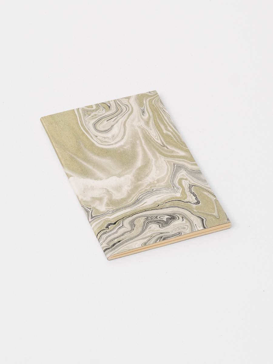 Journal in Gold and Black Marble