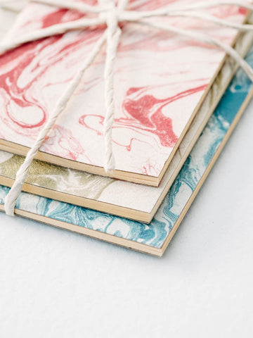 Notebook Set in Marble