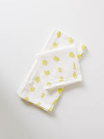 Printed Tea Towel with Citron